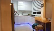 מגירות מטבח עם לד כחול - A.B DESIGN