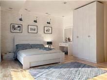 חדר שינה MAY עם ארון