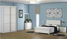 חדר שינה OLIVER עם ארון הזזה - InStyle