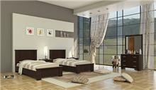 חדר שינה LORY עם שתי מיטות - InStyle