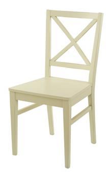 כסא עץ דגם X