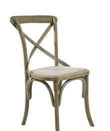 כסא עץ CROSS