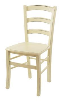כסא עץ COUNTRY שמנת