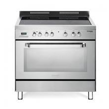 תנור אפיה משולב כיריים קרמיות מבית DELONGHI דגם NDS988X - חשמל נטו