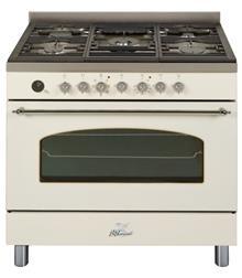 תנור אפיה מקצועי משולב כיריים מבית BOMPANI דגם BO684AH - חשמל נטו