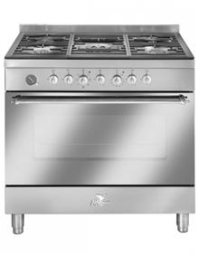 תנור אפיה מקצועי משולב כיריים מבית BOMPANI דגם BO683AH - חשמל נטו