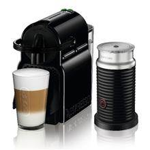 מכונת קפה NESPRESSO איניסייה בצבע שחור דגם D40 כולל מקציף חלב אירוצ'ינו - חשמל נטו
