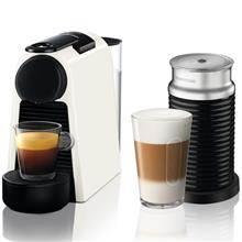 מכונת קפה NESPRESSO ESSENZA MINI בצבע לבן דגם D30 כולל מקציף חלב ארוצ'ינו - חשמל נטו