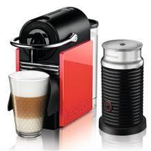 מכונת קפה Nespresso בצבע לבן וקורל דגם D60 - חשמל נטו