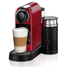 מכונת קפה  CITIZ&MILK בצבע אדום מבית NESPRESSO דגם C122 - חשמל נטו
