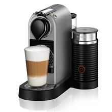 מכונת קפה CITIZ&MILK בצבע כסוף מבית NESPRESSO דגם C122 - חשמל נטו