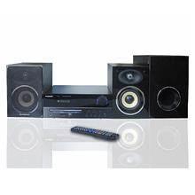 מערכת מיקרו סטריאו משולבת DVD קריוקי PURE ACOUSTICS דגם BX40 - חשמל נטו