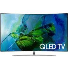 טלוויזיה קעורה 4K SMART HDR QLED 75 מבית SAMSUNG דגם QE75Q8C