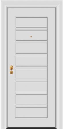 דלת כניסה דגם: PIR-3640  - פאנלוס