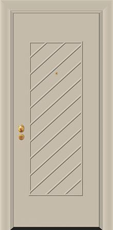 דלת כניסה דגם PIR-3875  - פאנלוס
