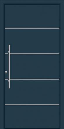 דלת כניסה דגם INOX-1310