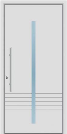 דלת כניסה דגם 1165  - טקני דור