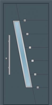 דלת כניסה דגם 1661 - טקני דור