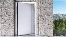 דלת כניסה דגם 1020 לבן