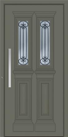 דלת כניסה דגם 1130-RAL-7003