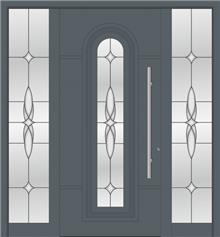 דלת כניסה 1106-2-MISA-RAL-7012