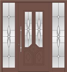 דלת כניסה 1115-2-MISA-8025 - טקני דור