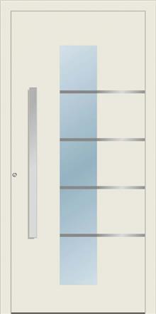דלת כניסה 1280-MISO-RAL-7012 - טקני דור