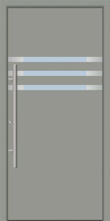 דלת כניסה 1290-RAL-7042