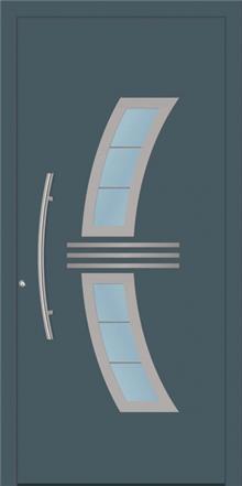 דלת כניסה 1320-NEW-RAL-7011