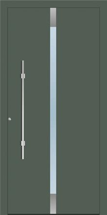 דלת כניסה 1355-RAL-7010 - טקני דור