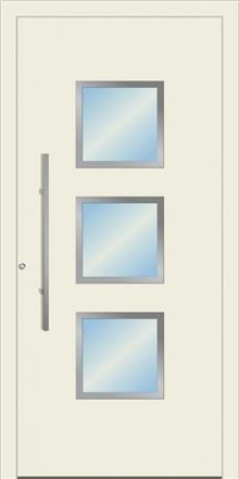 דלת כניסה 1360-RAL-9002 - טקני דור