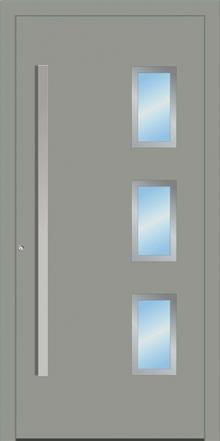 דלת כניסה 1364-RAL-7042 - טקני דור