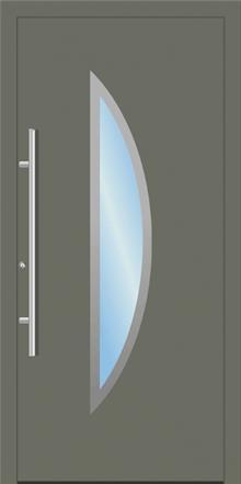 דלת כניסה 1366-RAL-7003 - טקני דור