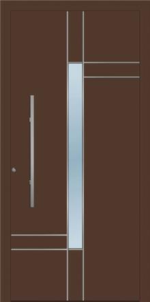 דלת כניסה 1410-RAL-8014