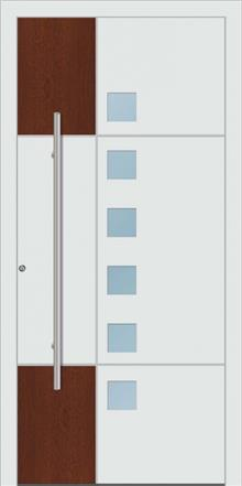 דלת כניסה 1460-white-wood - טקני דור