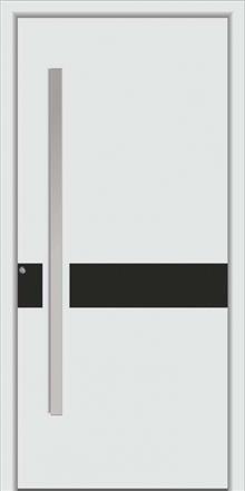 דלת כניסה 1470-white-carbon - טקני דור