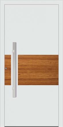 דלת כניסה 1475-white-wood - טקני דור