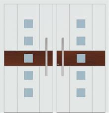 דלת כניסה 1465-DOUBLE-white-wood