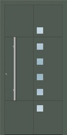 דלת כניסה 1150-RAL-7010 - טקני דור