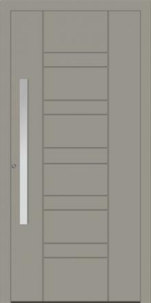 דלת כניסה 1715-RAL-7030 - טקני דור