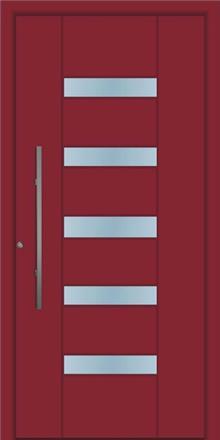 דלת כניסה 1717-RAL-3004