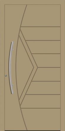 דלת כניסה 1755-RAL-1019 - טקני דור