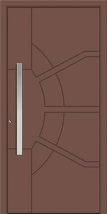 דלת כניסה 1765-RAL-8025