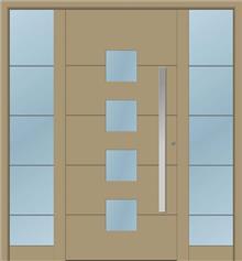 דלת כניסה 1160-2-MISA-RAL-1019
