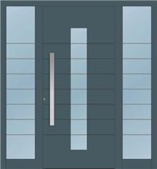 דלת כניסה 1185-2-MISA-RAL-7011