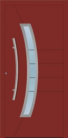 דלת כניסה 1220-RAL-3009 - טקני דור