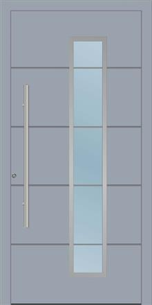דלת כניסה 1230-RAL-7040 - טקני דור