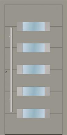 דלת כניסה 1521-RAL-7030 - טקני דור