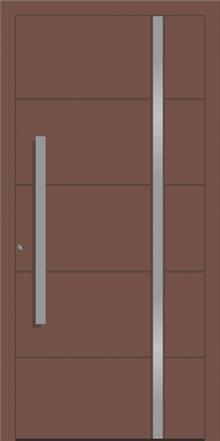 דלת כניסה 1736-ral-8025