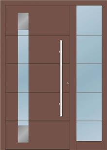 דלת כניסה 1250-MISO-RAL-8025 - טקני דור